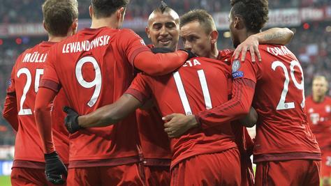 Risultati Champions League: Bayern-Olympiacos 4-0, Maccabi-Chelsea 0-4