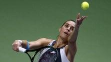 Tennis, Pennetta ritiro rimandato: in campo in India