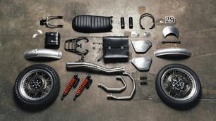 Moto Guzzi V7 II Scrambler: com'è fatta