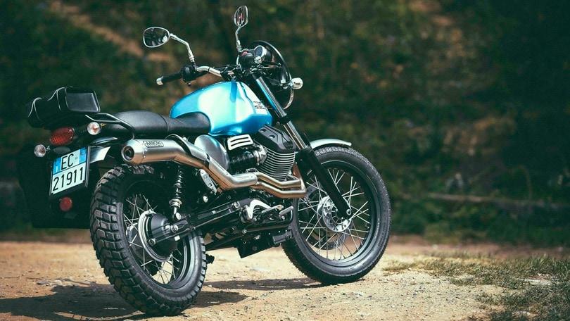 """Moto Guzzi V7 II: una scrambler """"fai da te"""""""