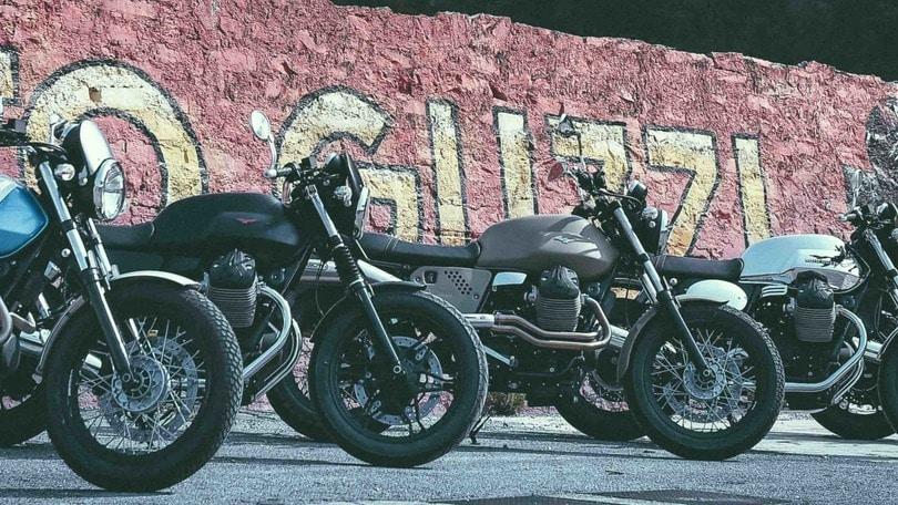 """Moto Guzzi """"Garage"""": 7 stili per la V7"""