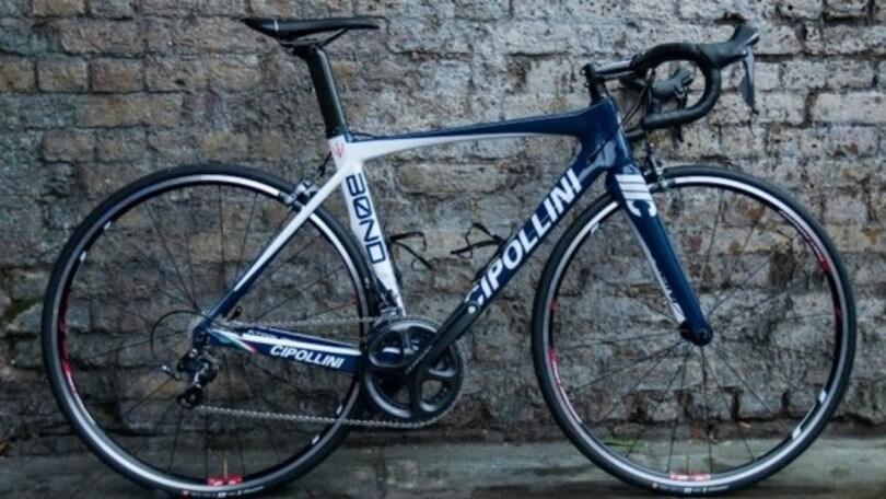 La bici da corsa Maserati e Cipollini