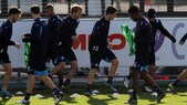 Europa League, il Napoli si allena prima della partenza per Bruges