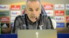 Lazio, Pioli: «In ritiro per chiarirci, reagiremo in Europa League»
