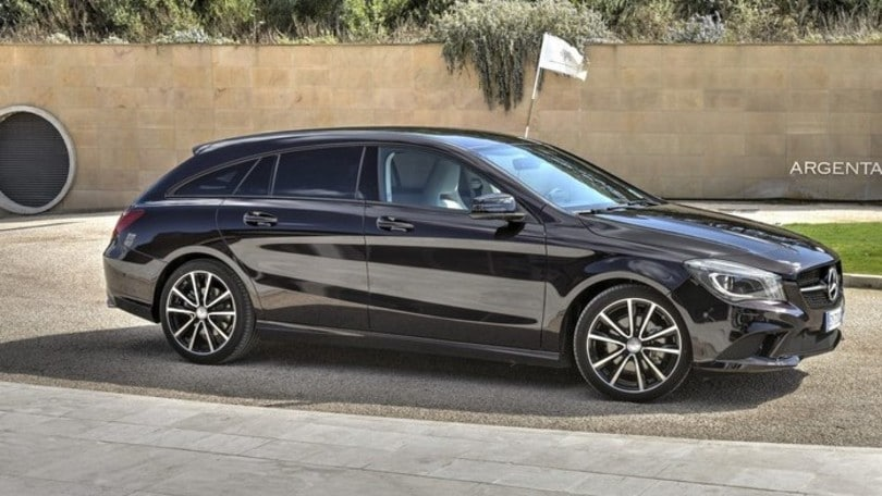 Mercedes CLA Shooting Brake, la prova della station sportiva