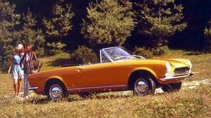 Fiat 124 Spider, 50 anni fa l'icona