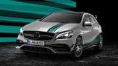 Mercedes celebra Hamilton con una Classe A stile F1