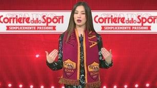 Roma, la sciarpa ufficiale con il Corriere dello Sport-Stadio