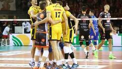 Lube Civitanova - Dhl Modena 2-3. Emozioni da finale scudetto