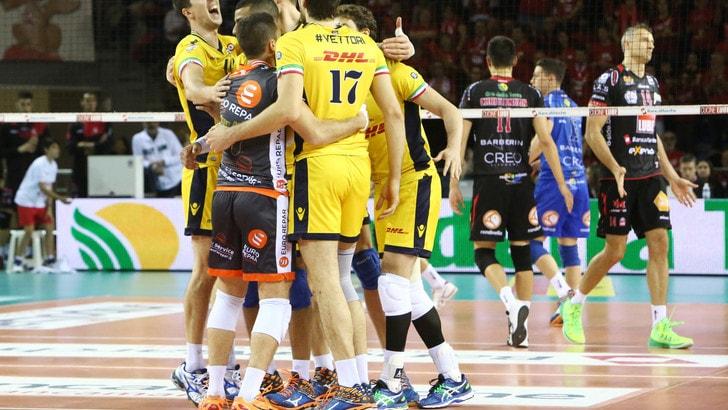 Lube Civitanova - Dhl Modena 2-3. Emozioni da finale scudetto ...
