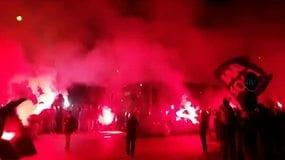 Che festa per l'Atalanta per la vittoria sulla Roma!