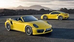 Nuove Porsche 911 Turbo e Turbo S, prestazioni mai viste