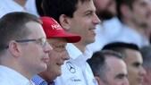 F1 Mercedes, Wolff: «Nel 2016 forte concorrenza»