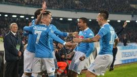 Serie A Napoli, ecco le pagelle: dirige Hamsik, Higuain il migliore