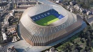 Chelsea, ecco il nuovo Stamford Bridge