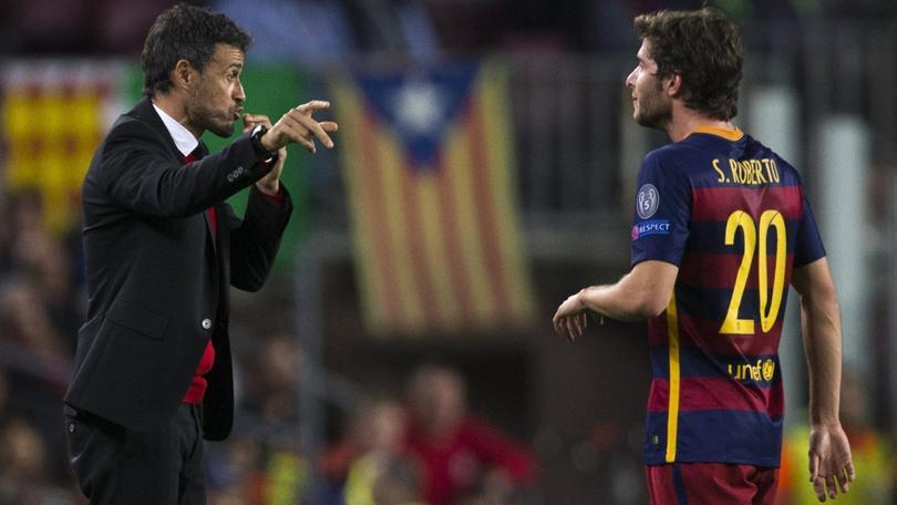 Sergi Roberto, il jolly di un Barça da record