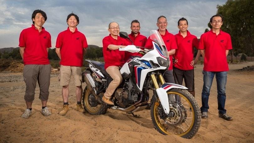 Speciale Honda Africa Twin: la moto italiana
