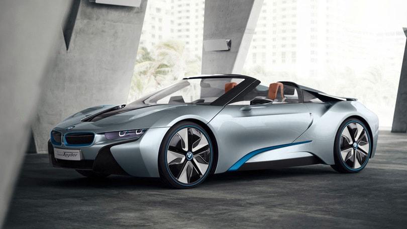 BMW i8 Spyder vicina alla produzione