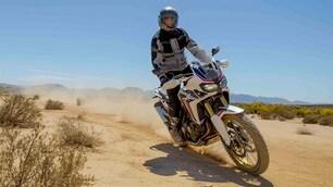 Speciale Honda Africa Twin: la prova off-road