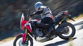 Speciale Honda Africa Twin: il test su strada