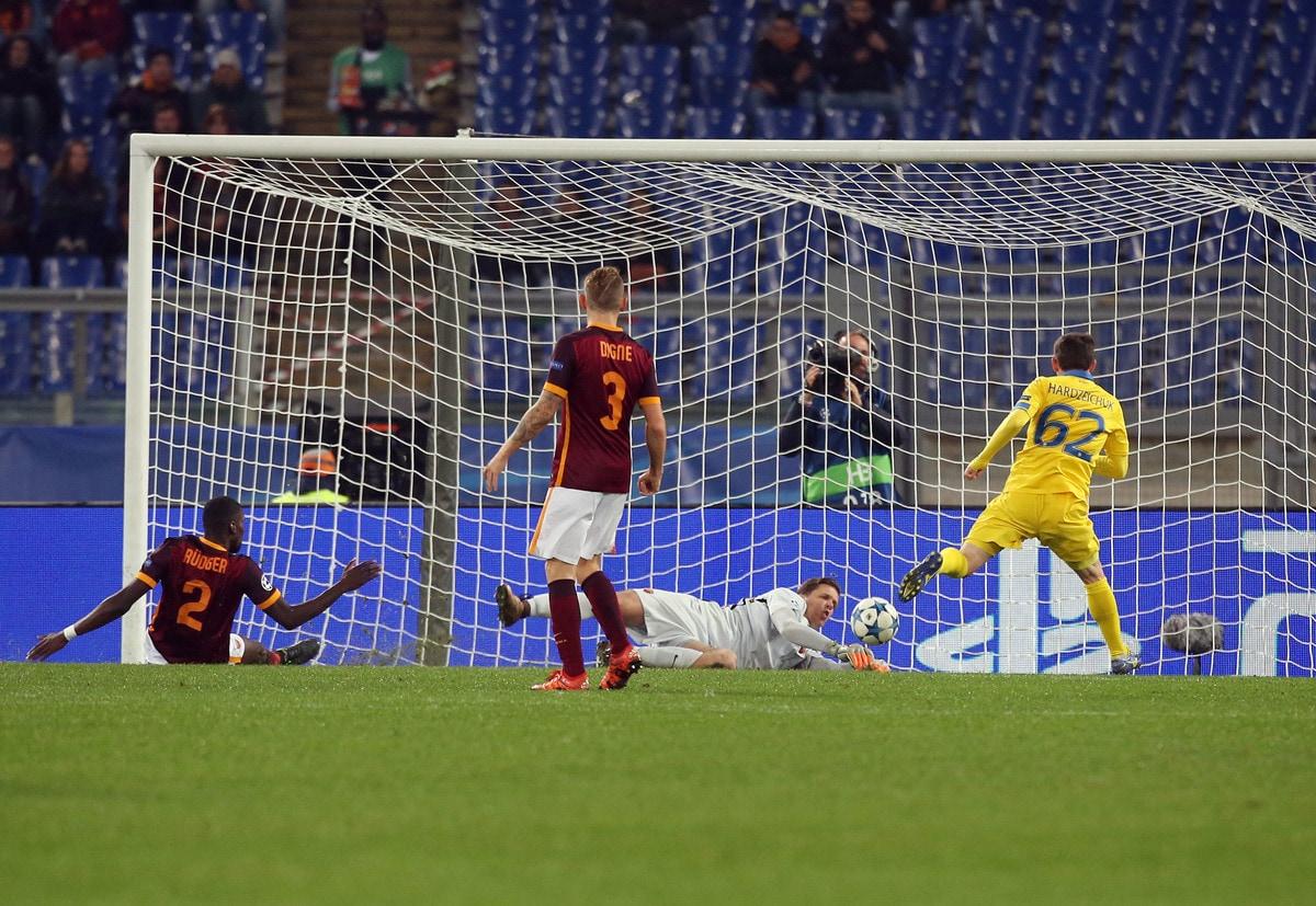 Champions League: Roma-Bate Borisov 0-0, giallorossi agli ottavi