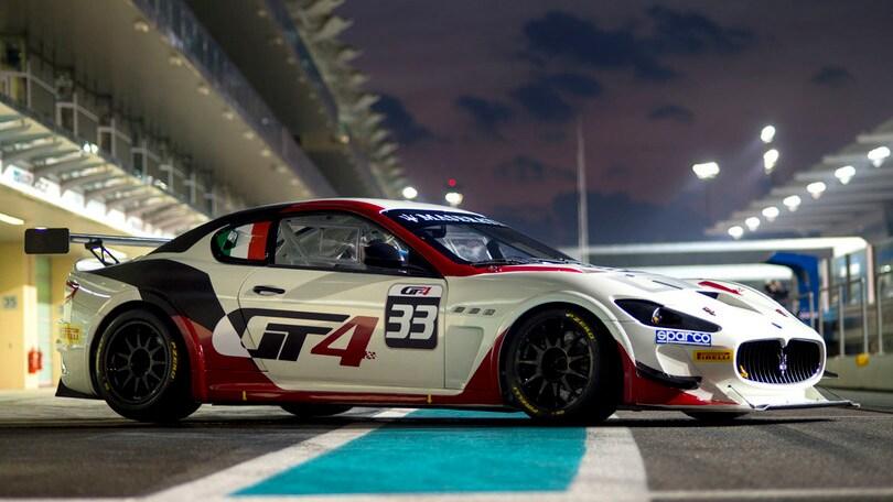 Maserati, le Gran Turismo correranno nelle GT4 2016