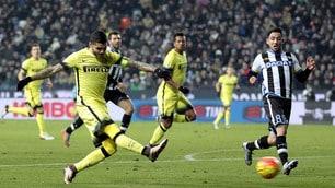 Udinese-Inter 0-4: che show i nerazzurri al Friuli