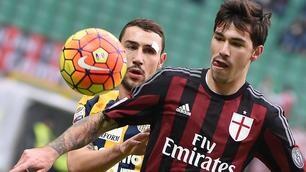 Milan-Verona 1-1, secondo stop per i rossoneri