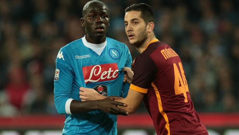 Manolas-Koulibaly: il Napoli pensa alla supercoppia in difesa