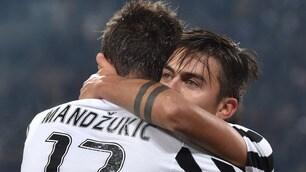 Juventus-Fiorentina 3-1, Cuadrado, Mandzukic e Dybala annientano Sousa