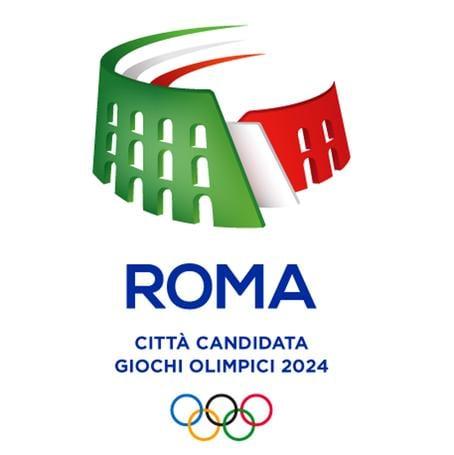 Olimpiadi, Roma 2024: il logo è un Colosseo tricolore