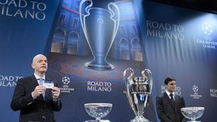 Sorteggi Champions League: alla Roma tocca il Real Madrid