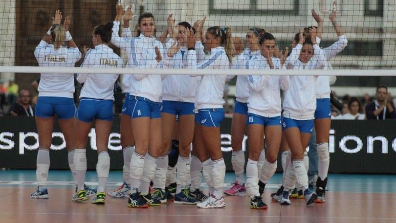 Volley: Nazionale Femminile, l'Italia giocherà la Qualificazioni Mondiali in Belgio