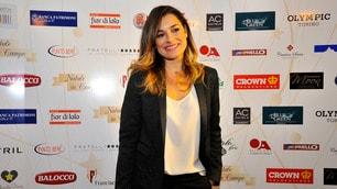 Alena Seredova illumina il red carpet a Torino