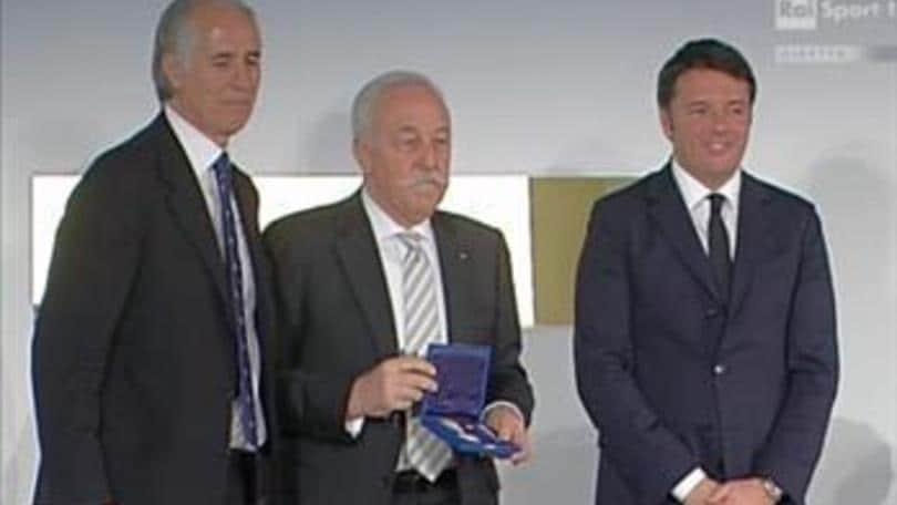 Volley: Diego Mosna insignito con la Stella d'Oro