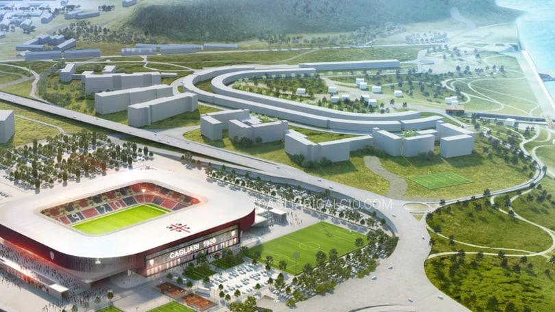Cagliari, ecco il nuovo stadioSant'Elia:sarà pronto nel 2019
