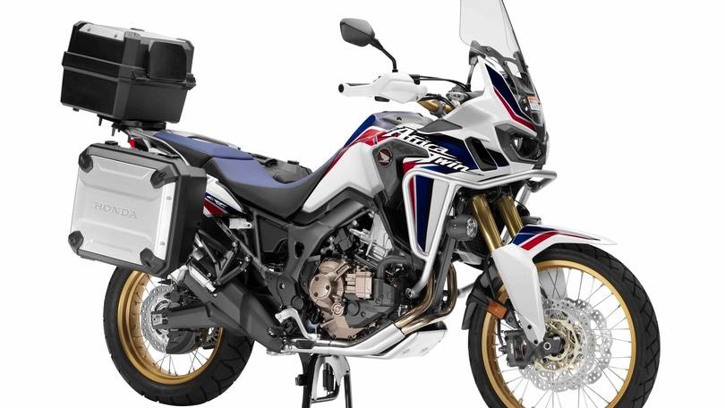 """Honda Africa Twin: 2.750 euro in più per la """"Travel Edition"""""""