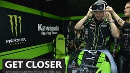 App Kawasaki: in pista con Jonathan Rea e la nuova ZX-10R