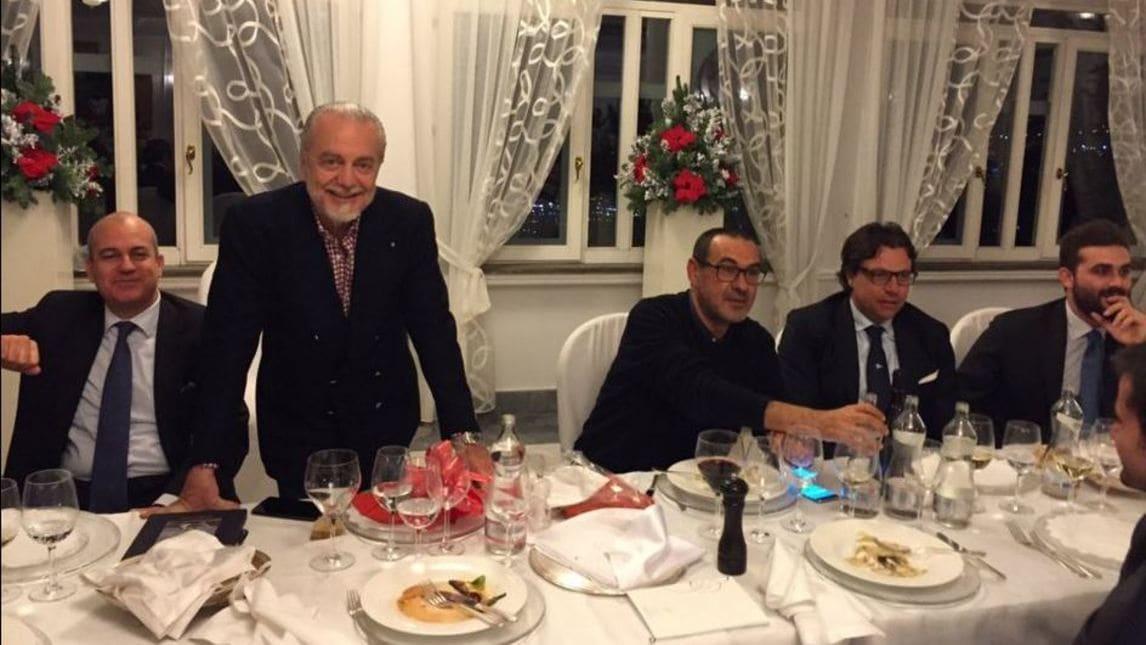 Napoli Cena Di Natale Tra Regali E Sorrisi Corriere Dello Sport