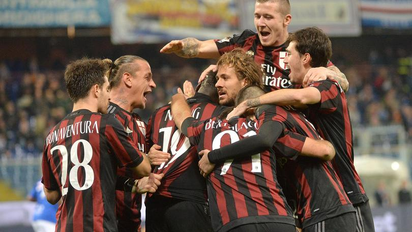 Coppa Italia, Sampdoria-Milan 0-2