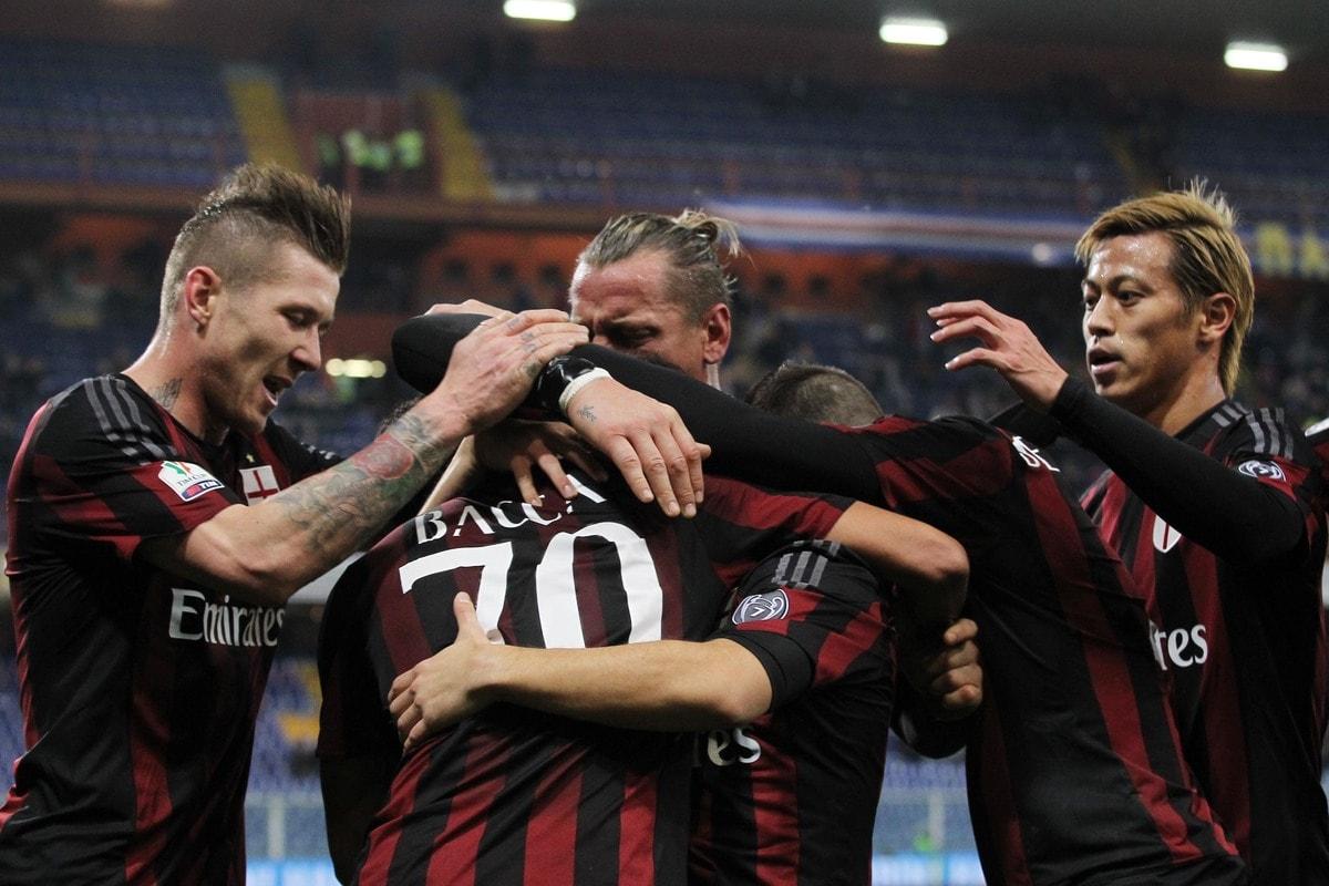 Coppa Italia: Sampdoria-Milan 0-2, rossoneri ai quarti