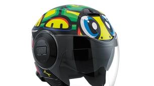 """AGV: ecco il casco jet """"tartaruga"""" del Dottore"""
