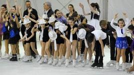 Festa sul ghiaccio all'Ice Park di Frascati