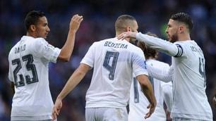 Liga, il Real Madrid vince 10-2 contro il Rayo Vallecano