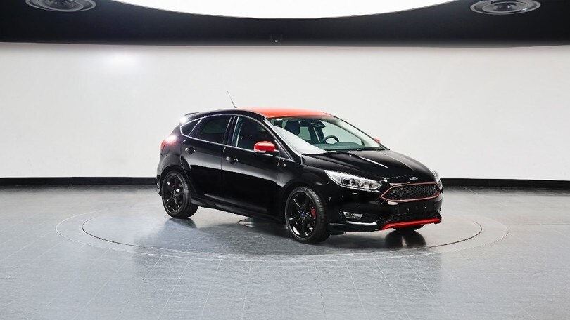 Ford Focus Red e Black Edition, sport in città