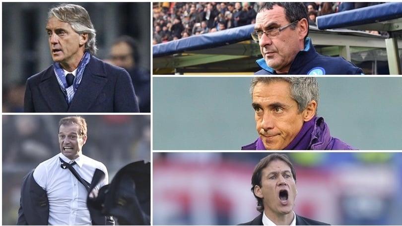 Inter, Napoli, Fiorentina, Juventus, Roma: chi sarà campione d'inverno?