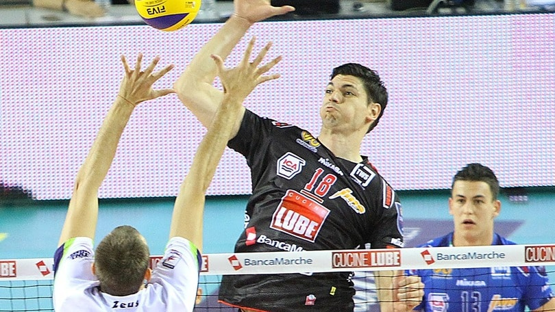 Volley: Superlega, Podrascanin miglior giocatore serbo del 2015