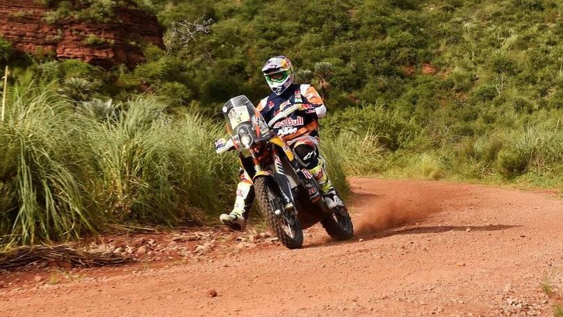 """Dakar moto, 2° tappa: Price al """"fotofinish"""" su Faria"""