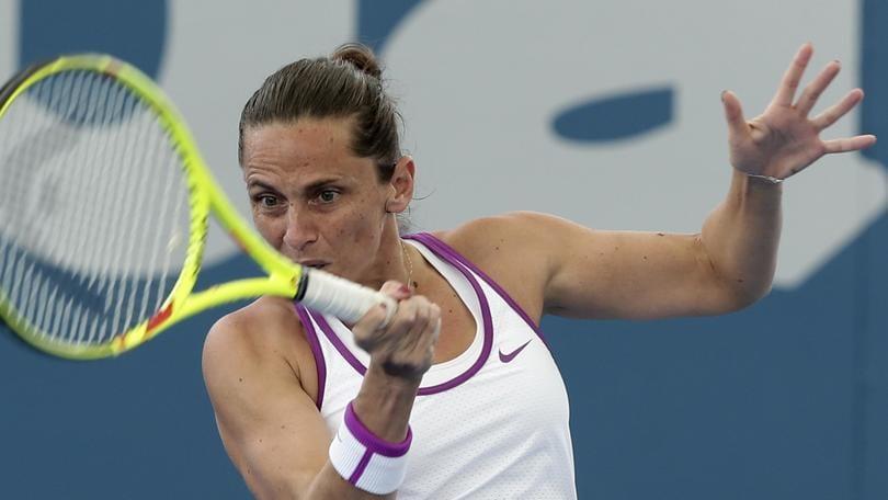 Tennis, Wta Brisbane: Vinci vola ai quarti,Cibulkova fuori