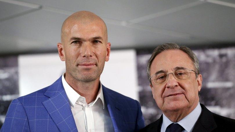 Real Madrid, ecco i numeri di Zinedine Zidane